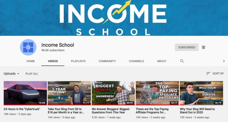 income school youtube video